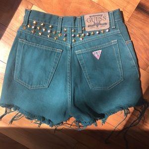 Guess Shorts - Vintage guess denim shorts